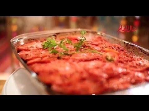 صينية الكبدة بالبطاطس - مطبخ منال العالم