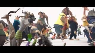 Зверополис 2016   Русский трейлер мультфильм