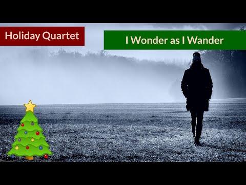 I Wonder as I Wander - Christmas Native American Flute Quartet