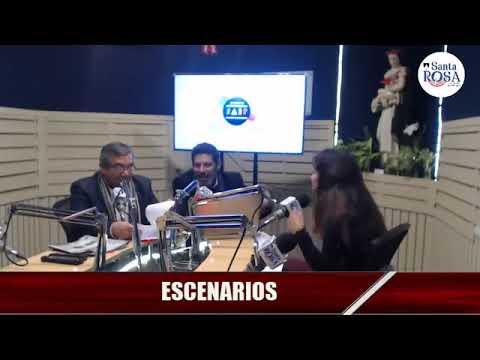 Promoción de la obra Un chico de Bosnia en Escenarios- Radio Santa Rosa