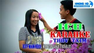Thov Txim - ICU Karaoke [Official MV Instrument] Full HD