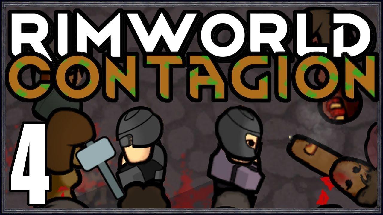 Rimworld: Contagion #4 (City Zombie Survival)