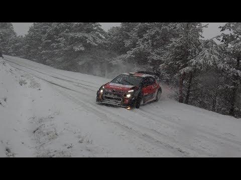 Tests Citroën Sport C3 WRC pré Rallye Monte Carlo 2018 by Ouhla lui Movie