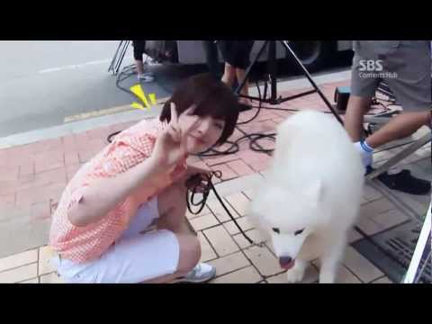 SULLI cut Behind the scene of For you in full blossom by 23, Aug