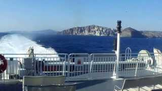 Fast ferry from Santorini to Crete