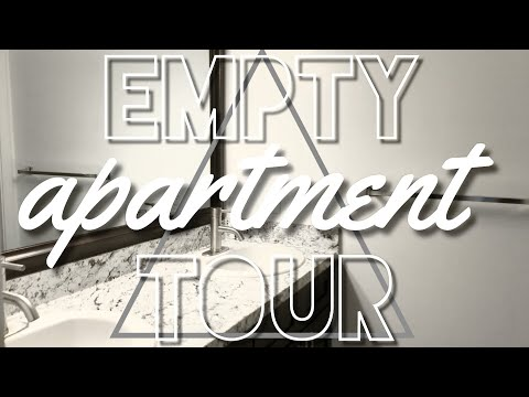 Empty Apartment Tour 2018 | My First Apartment!! | Kinzey Rae
