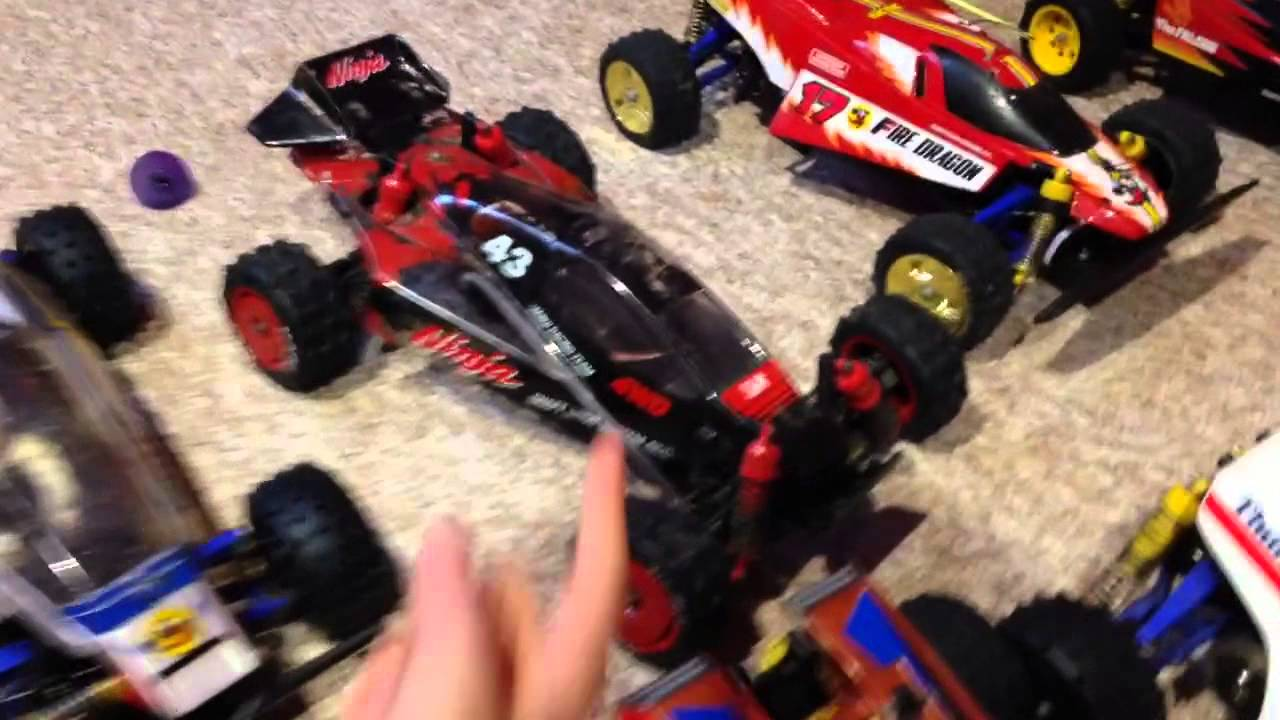 Vintage Tamiya And Schumacher Rc Car Buggy Collection Youtube