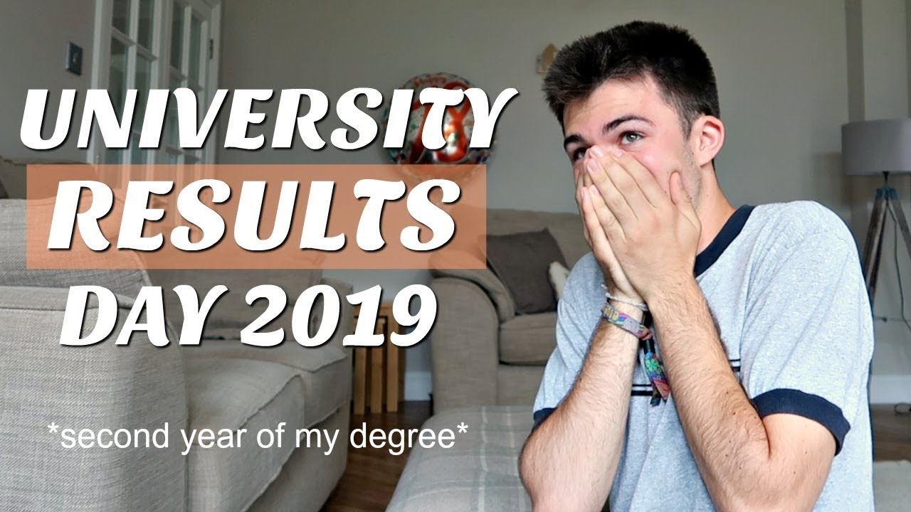 reacting to my university exam results on camera (results day 2019)
