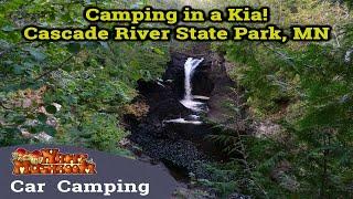 Camping in a Kia! - Cas¢ade River State Park in Minnesota - S1:E5
