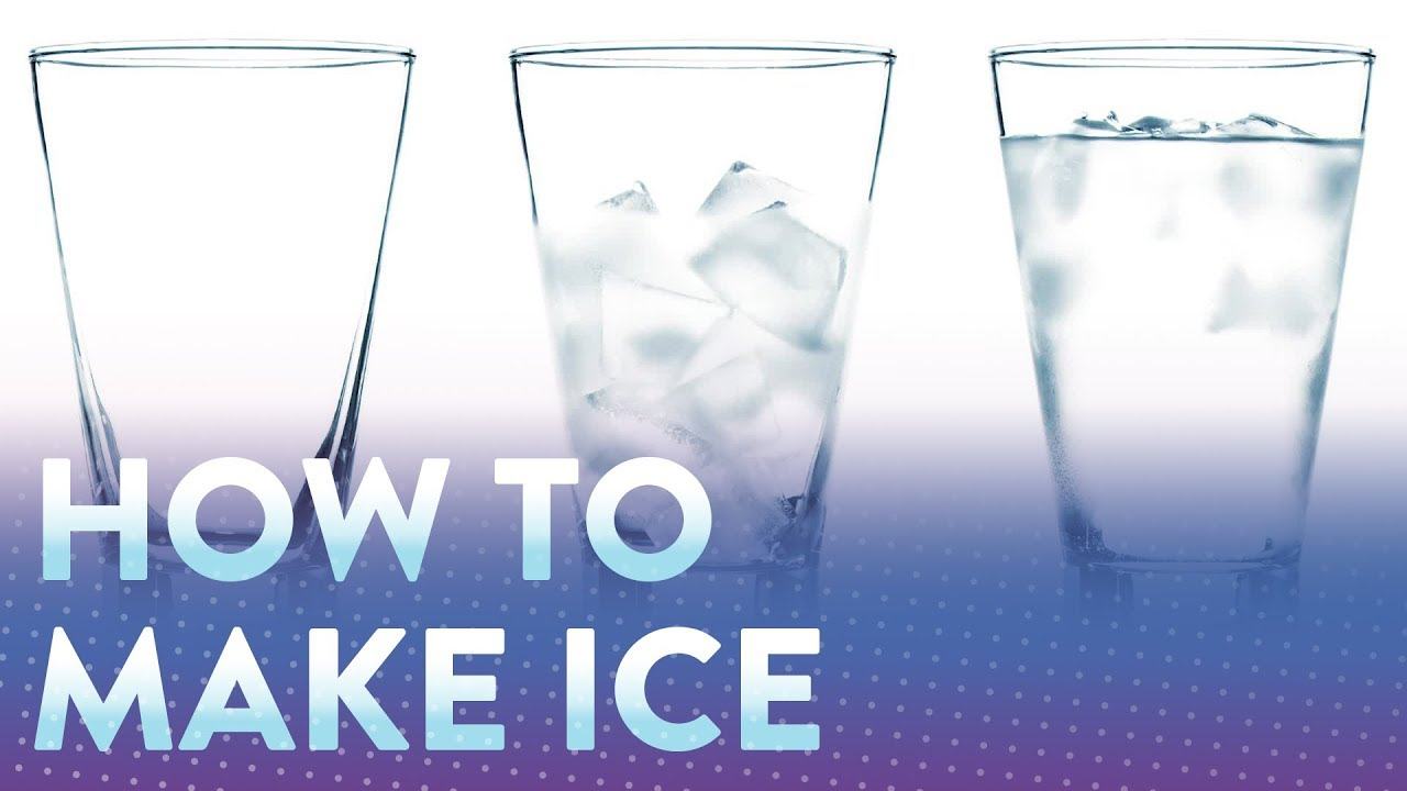 How To Make Ice Cubes Youtube