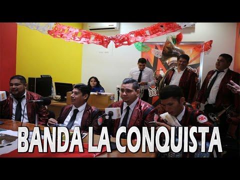 Entrevista a Banda La Conquista - Con Joe Gallardo (Fuerza Culiacán Radio)(LA SINALOENSE) (2016)