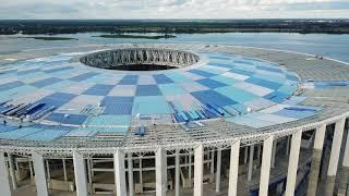 Стройка стадиона Нижний Новгород - Сентябрь - 13