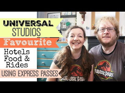UNIVERSAL STUDIOS TIPS & CHAT | Express Passes | Hotels | Favourite Food & Rides | Orlando