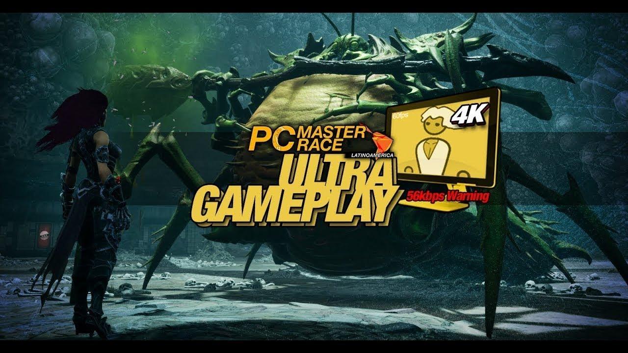 Ultra Gameplay - Darksiders 3 Sloth Boss Fight [4K ...