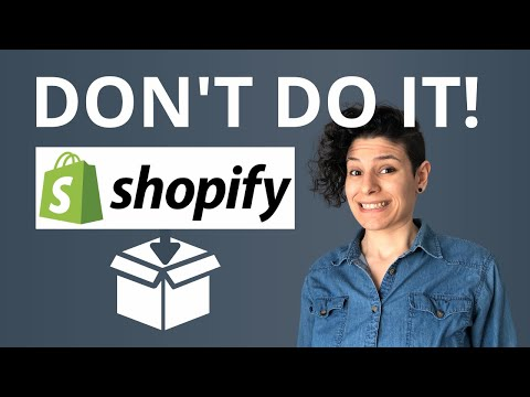 *WATCH THIS* Before Dropshipping with Shopify! 5 Beginner Mistakes to Avoid thumbnail