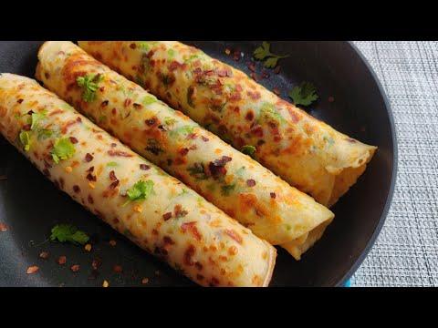 5 Mins Easy Breakfast Recipe | Easy Snacks Recipe