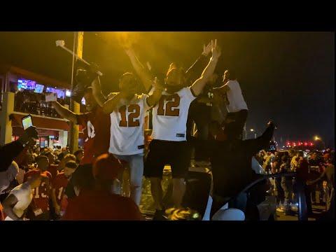 Tampa Celebrates Buccaneers Super Bowl Victory