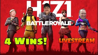 H1Z1 PS4 with Squads | 106 Win #Playstation #shooters #H1Z1