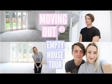 Moving In Together + EMPTY HOUSE TOUR | Moving Vlog 1