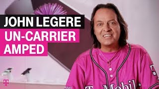 T-Mobile CEO @JohnLegere introduces: #UncarrierAmped, Apple style