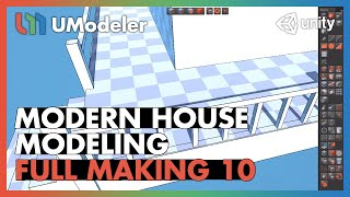Modern House 10/11 - UModeler Tutorial