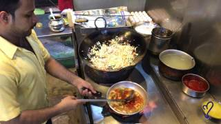 Broast Town, Chicken Manchurian With Fried Rice  | Street Food Of Karachi, Pakistan.