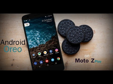 Android Oreo 8.O on Moto Z Play | First Time Ever | Lineage 15 OS | Blazing Fast ROM