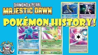 Pokémon TCG History: Majestic Dawn (Diamond & Pearl)