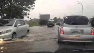 """Уссурийск, 3 км, после тайфуна """"Гони"""", 27,08.2015"""