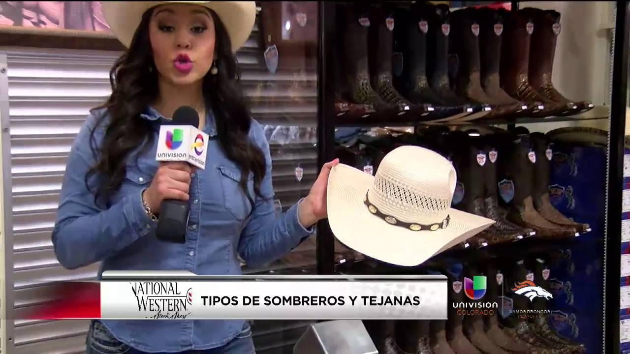 Tipos de sombreros y tejanas - YouTube 5bca899b873