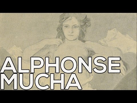 Alphonse Mucha: A collection of 81 sketches (HD)