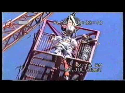 KBK Keith Topless Bungee Jump 14th July 2001