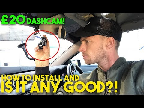 CHEAP £20 Amazon DASH CAM: How To Hardwire and Is It Any Good?