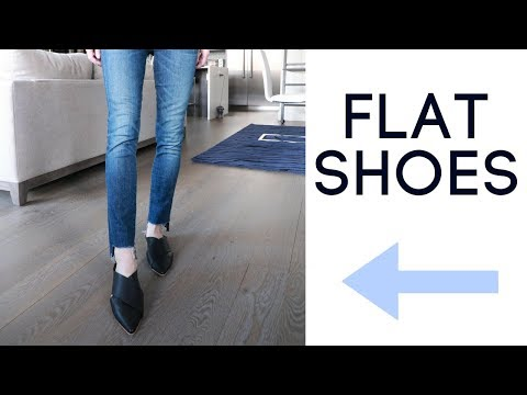 Trendy & Classic Flat Shoe Styles for Women 2018