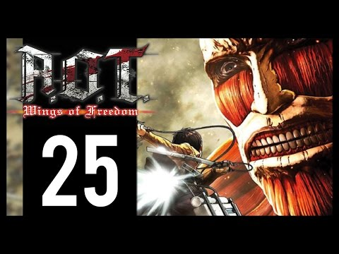 Attack On Titan: Wings Of Freedom - Gameplay Walkthrough Part 25 - 9 Star Missions  (PS4)