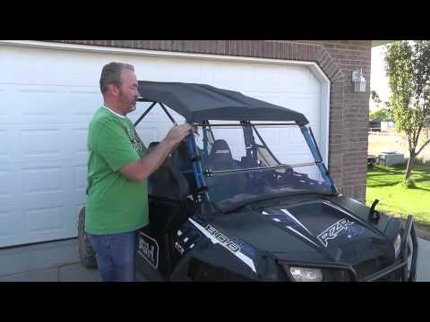 How to Put UTV Windshield in Tilt Position - Clearly Tough