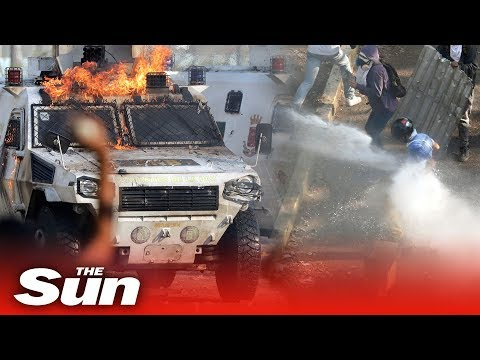 Venezuela Coup: Caracas becomes a war zone