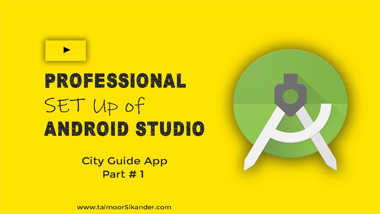 Android Studio Installation Windows 10 -  How to install android studio on windows 10 - Part 1