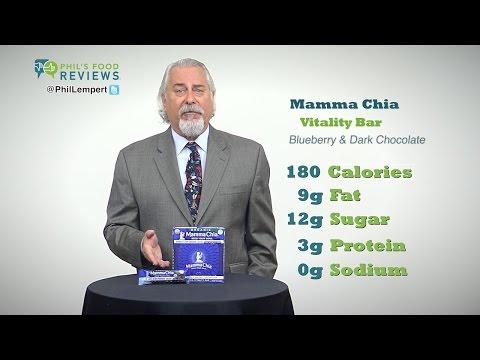 Mamma Chia Vitality Bar Blueberry & Dark Chocolate 10/1