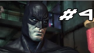 BATMAN Arkham Asylum Gameplay Walkthrough - Part 4 - Saw Face Mask (Let