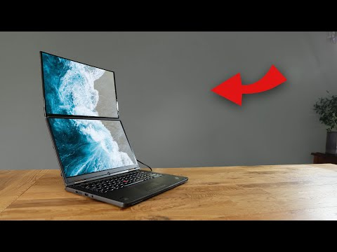 DIY Dual Screen Laptop! (100% DIY!)
