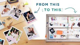 TURN YOUR INSTA FEED + MEMORY BOX INTO ROOM DECOR   THE SORRY GIRLS