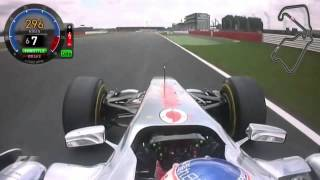 Jenson Button British Grand Prix Onboard Lap 2011