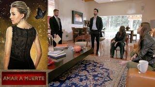 Amar a muerte - Capítulo 83: León se reencuentra con su familia - Televisa