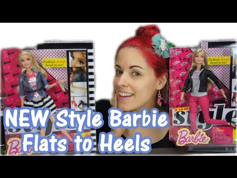 Barbie Style Flats to Heels Double Doll Review