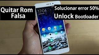 Quitar Rom Falsa Xiaomi + Solucionar error 50% Unlock Bootloader
