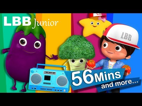 Eat Your Vegetables | And Lots More Original Songs | From LBB Junior!