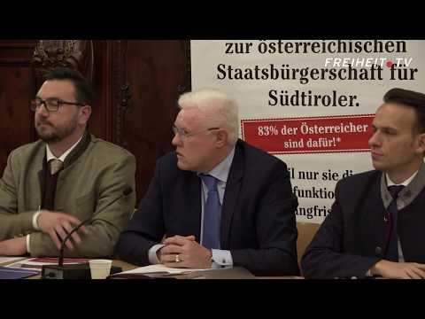 Die überparteiliche Pressekonferenz zur österreichischen Staatsbürgerschaft im Video