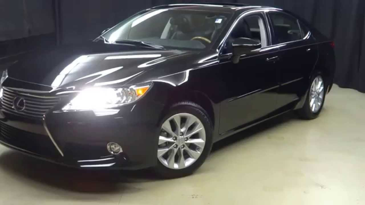 2015 lexus es300h hybrid walkaround lexus of wilmington 15158a youtube. Black Bedroom Furniture Sets. Home Design Ideas