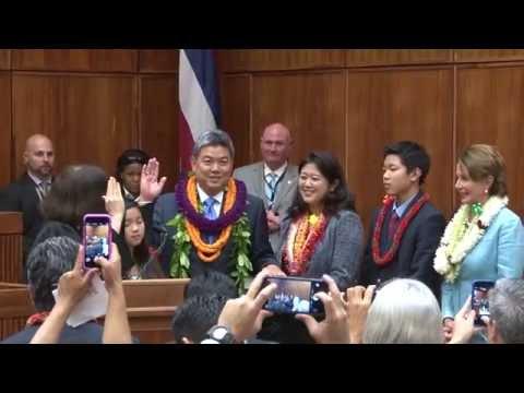 Honolulu Swearing-In Ceremony for U.S. Rep. Mark Takai